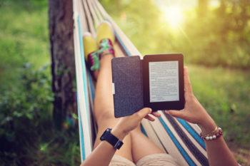 reading an e book